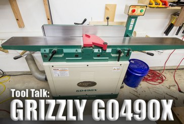 Tool Talk #1: Grizzly G0490X Jointer