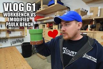 Vlog #61: Workbench VS Modified Paulk Bench