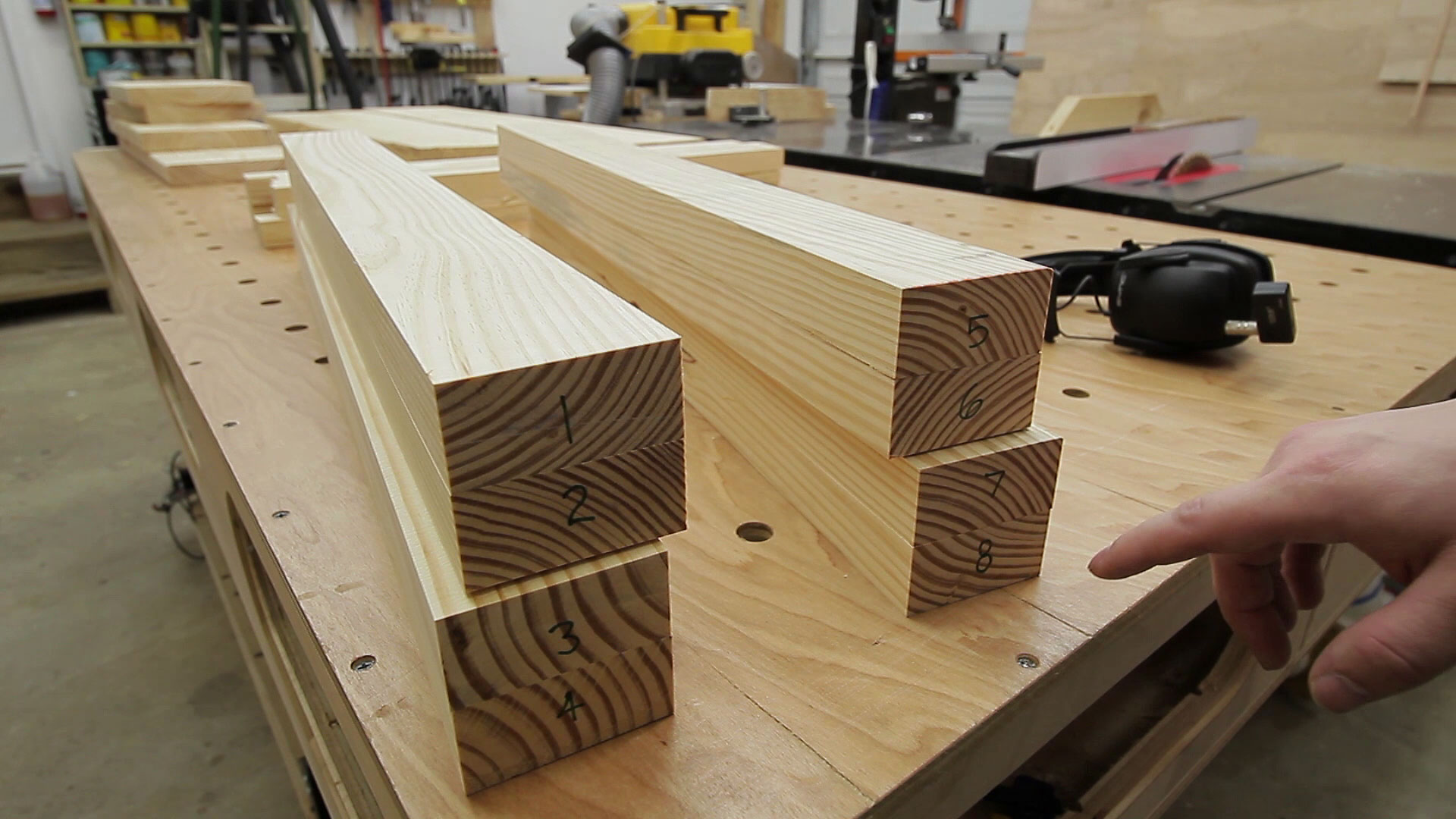 Mortise and tenon table jays custom creations for Table joints