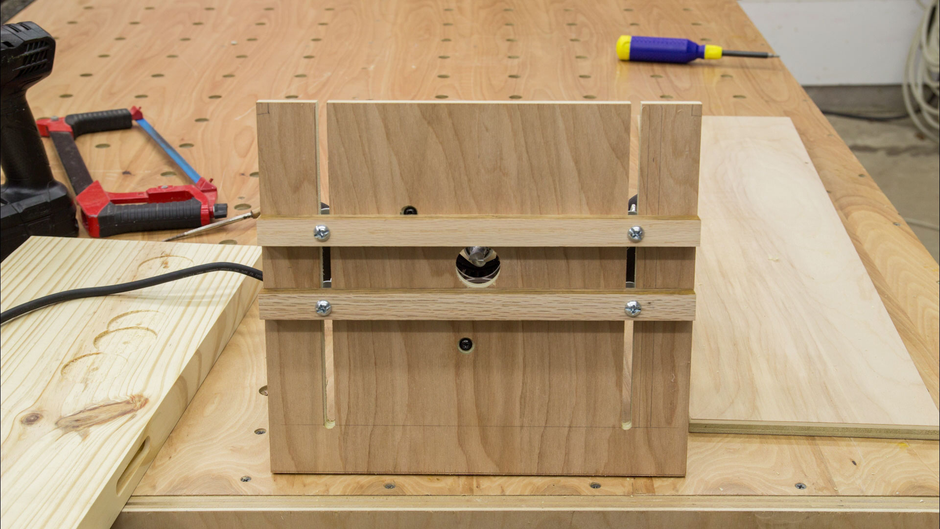 Universal Router Edge Guide And Mortise Jig | Jays Custom Creations