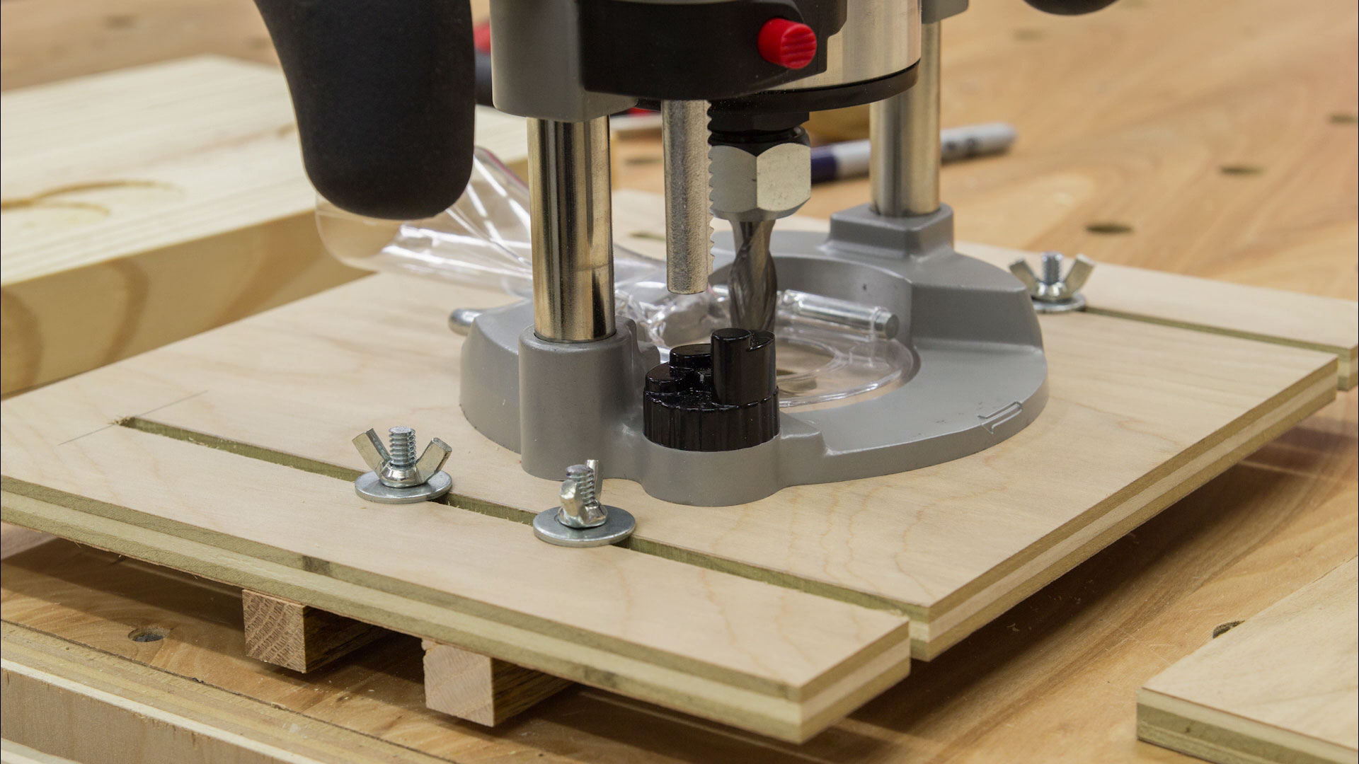 Universal Router Edge Guide And Mortise Jig Jays Custom