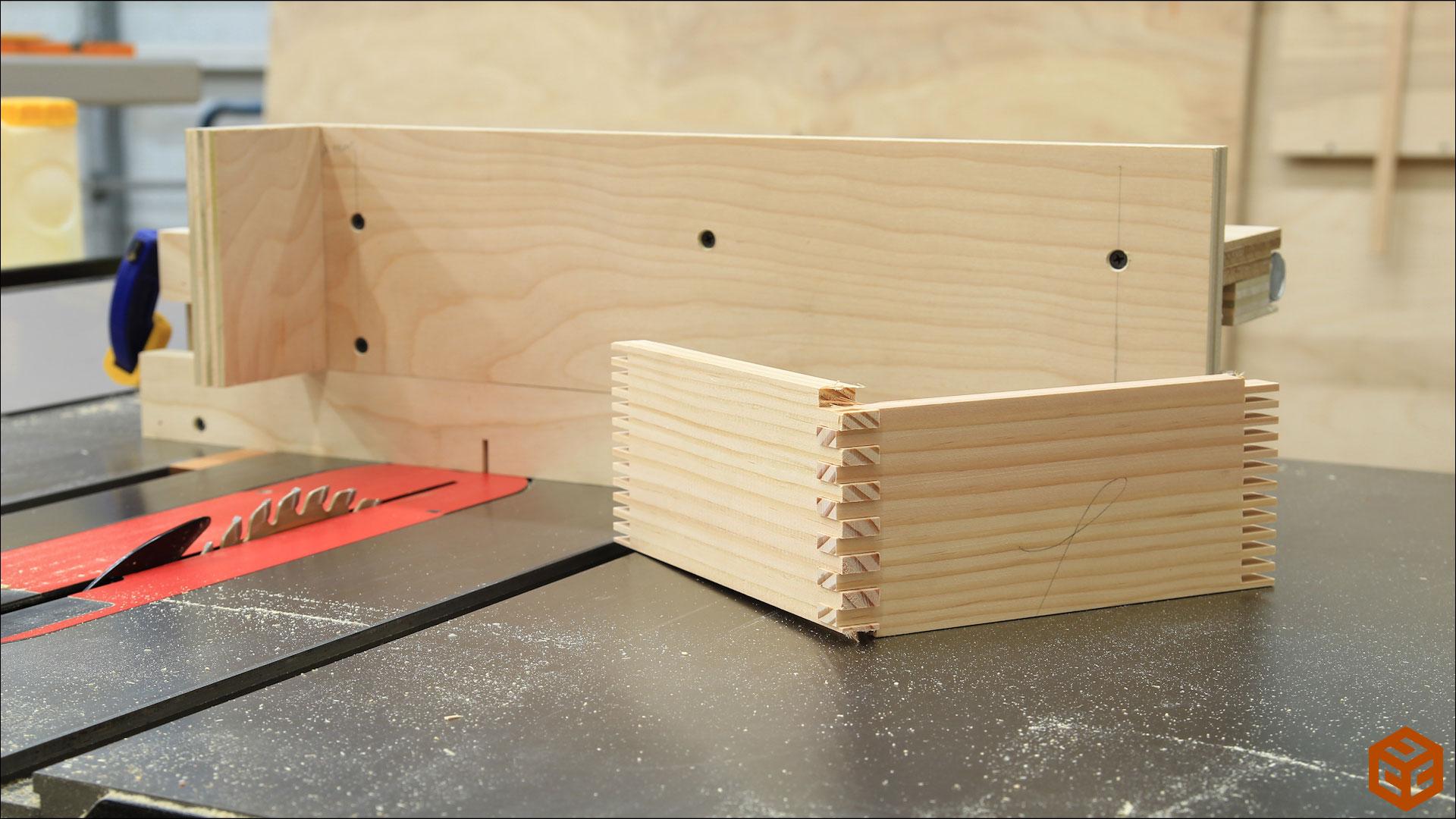 Table Saw Box Joint Jig Jays Custom Creations