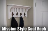 Mission Style Coat Rack