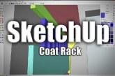 SketchUp: Coat Rack