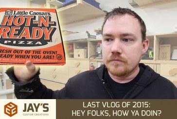 Last Vlog Of 2015: Hey Folks, How Ya Doin?