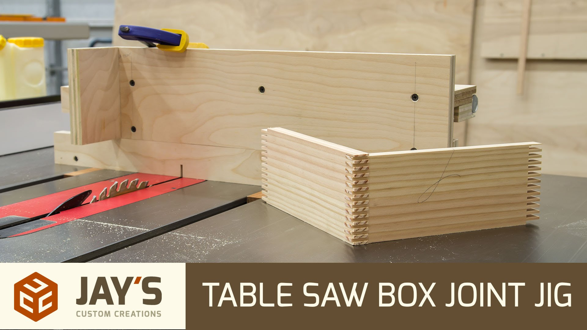 Table Saw Box Joint Jig Jays Custom Creations