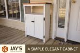 A Simple Elegant Cabinet