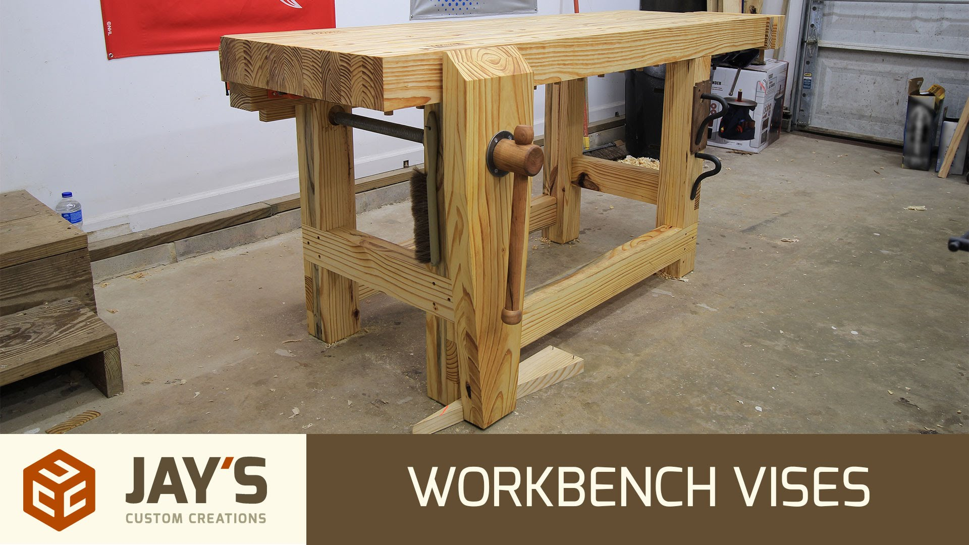 Astonishing Workbench Vises Jays Custom Creations Pabps2019 Chair Design Images Pabps2019Com