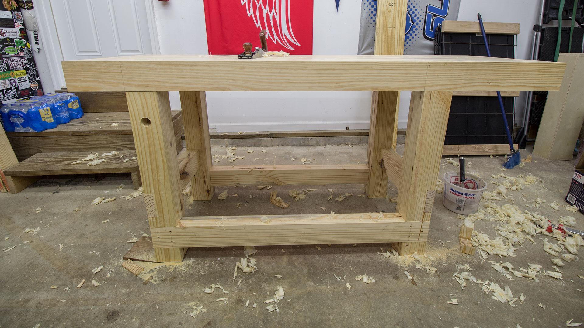 Build A Woodworking Workbench | Jays Custom Creations
