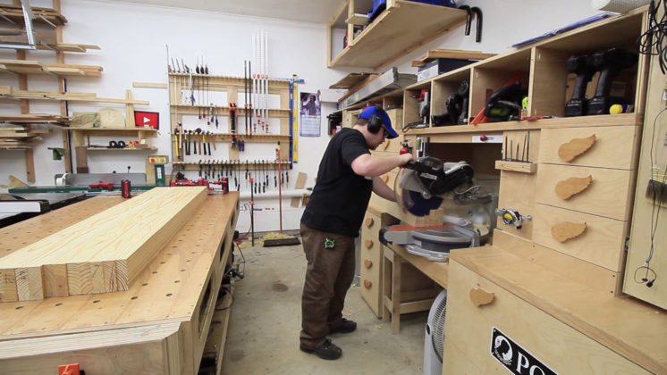 woodworking workbench (8)