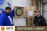 Making A Dartboard Cabinet For The Shop
