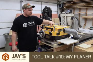 Tool Talk #10: My DW735 Planer