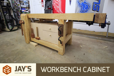 Quick and Easy Workbench Cabinet