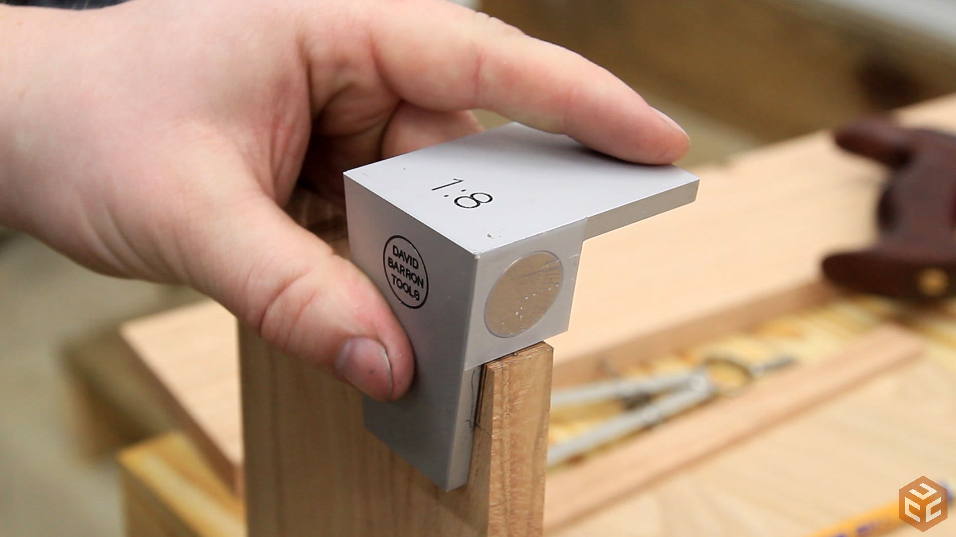 Carpentry Woodworking Tools Dovetail Marker Hand Cut Wood