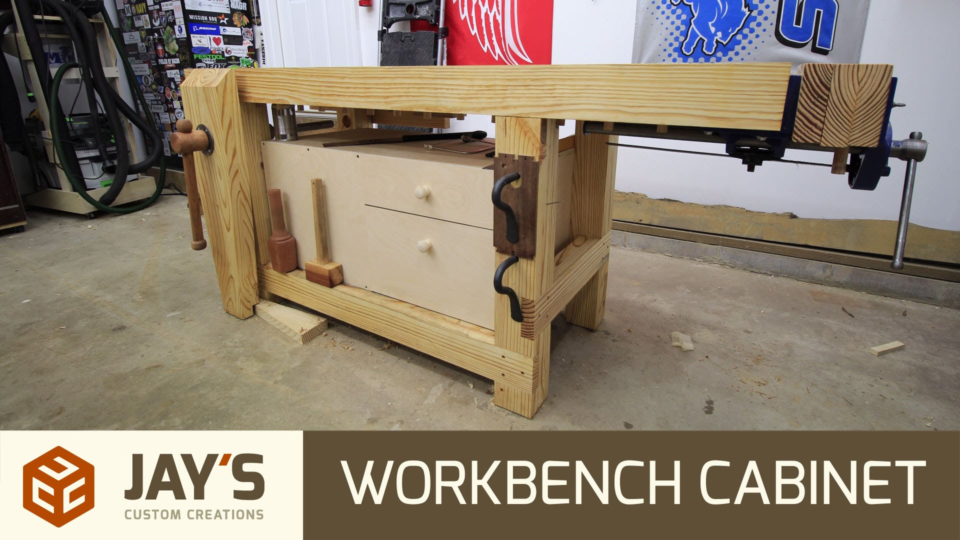 Amazing Quick And Easy Workbench Cabinet Jays Custom Creations Caraccident5 Cool Chair Designs And Ideas Caraccident5Info