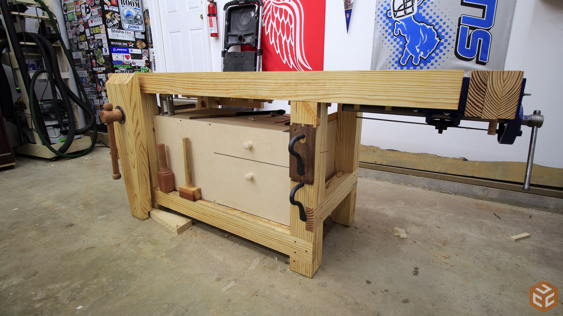 Quick And Easy Workbench Cabinet Jays Custom Creations