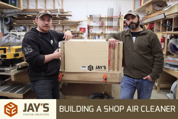Building a Shop Air Cleaner