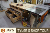 Tyler G Shop Tour – Article Tour & Video Tour