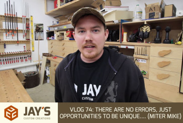 Vlog #74: There Are No Errors, Just Opportunities To Be Unique…. (Miter Mike)