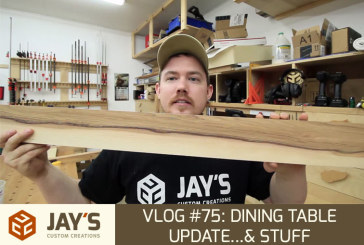 Vlog #75: Dining Table Update…& stuff