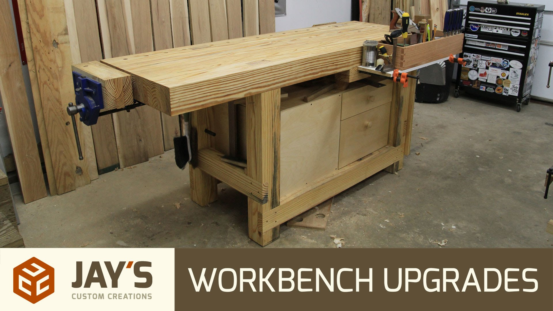 Workbench Upgrades Jays Custom Creations