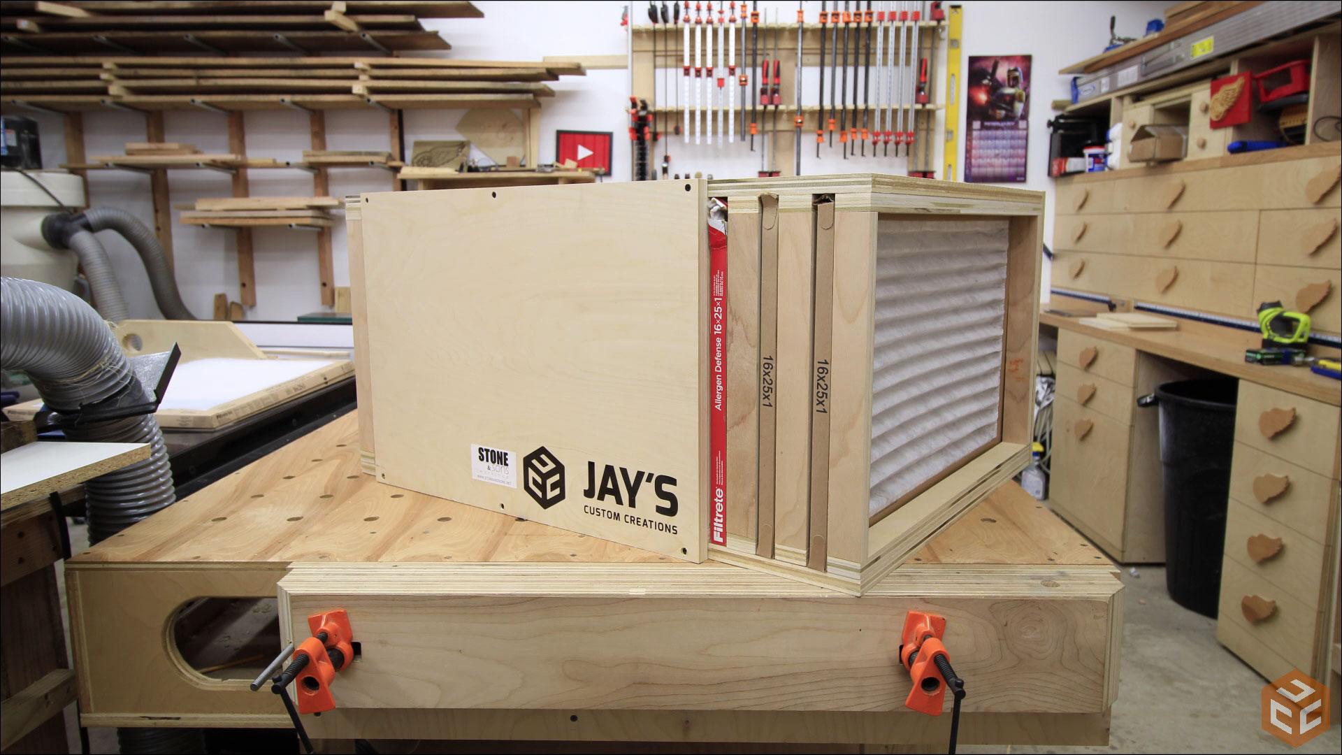 Building A Shop Air Cleaner Jays Custom Creations
