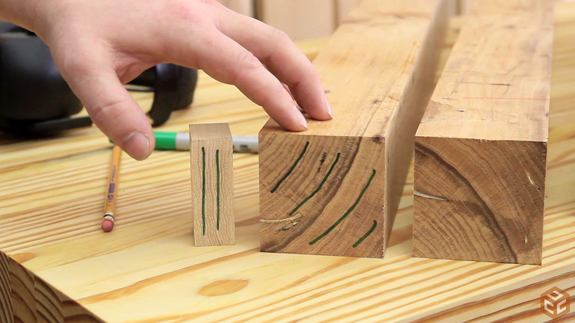 How to build a dining table jays custom creations - Como hacer patas de madera para mesas ...