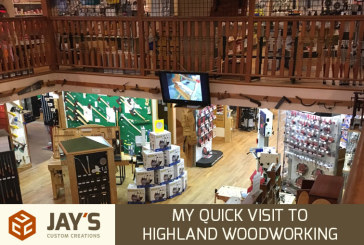 My Quick Visit to Highland Woodworking in Atlanta