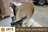My First Few Lathe Projects