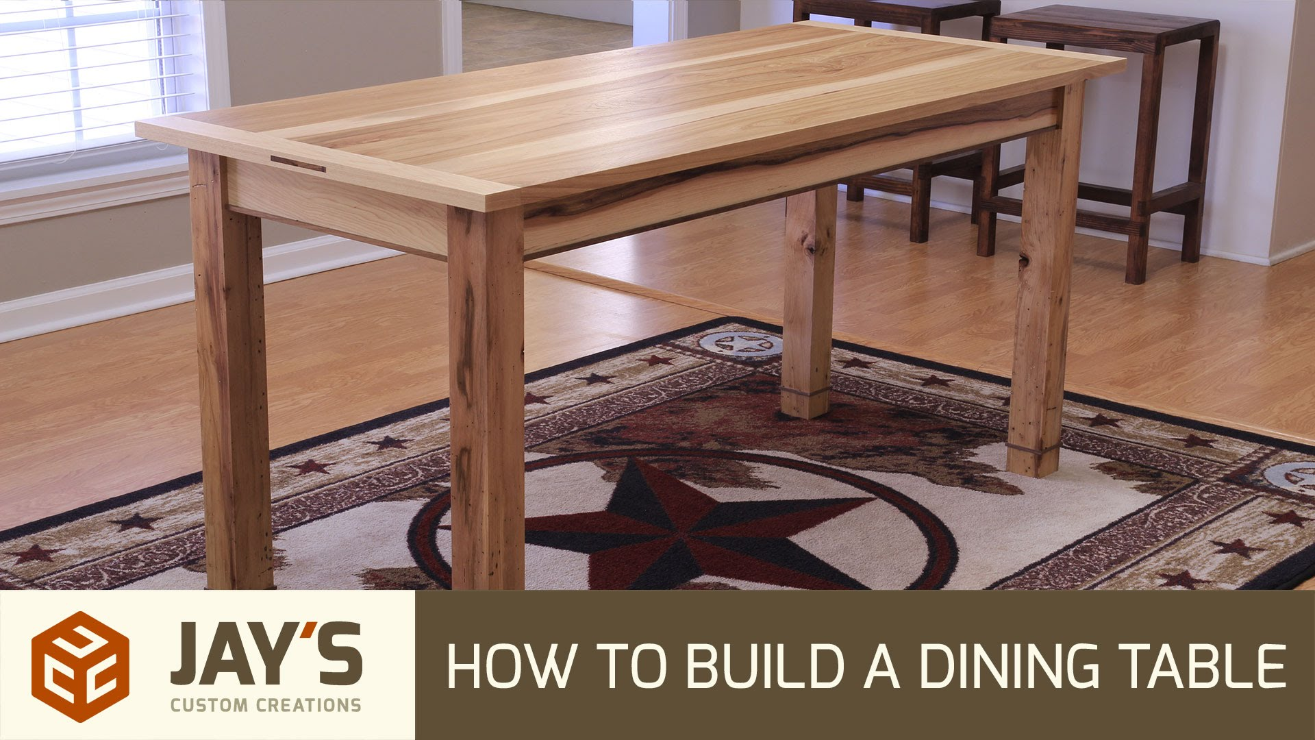 How To Build A Dining Table | Jays Custom Creations