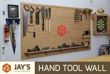 Making a Hand Tool Wall