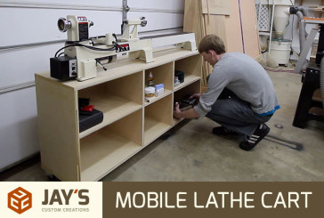 Mobile Lathe Cart
