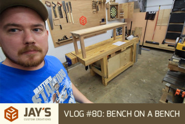 Vlog #80: Bench on a bench