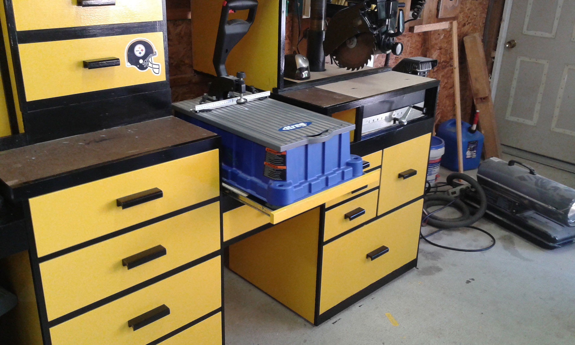 Craig Parsons Ultimate Miter Saw Station