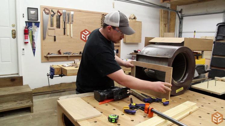 Mobile Air Cleaner Cart Jays Custom Creations