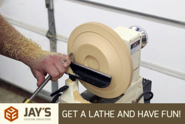 Get A Lathe And Have Fun!
