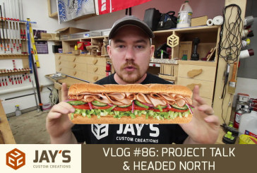Vlog #86: Project Talk & Headed North