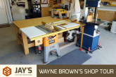 Wayne Brown's Shop Tour