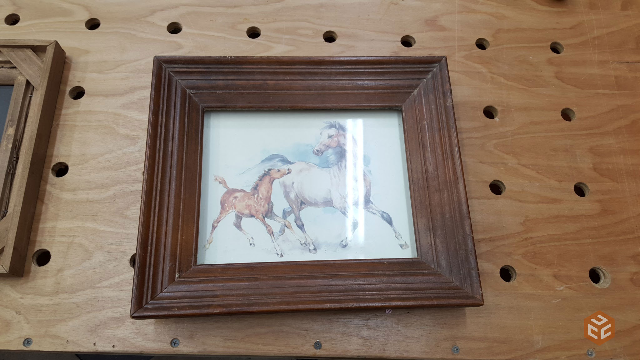 Full Trend Rustic Picture Frames : ... somewhat duplicate this particular frame and add our own touch to it