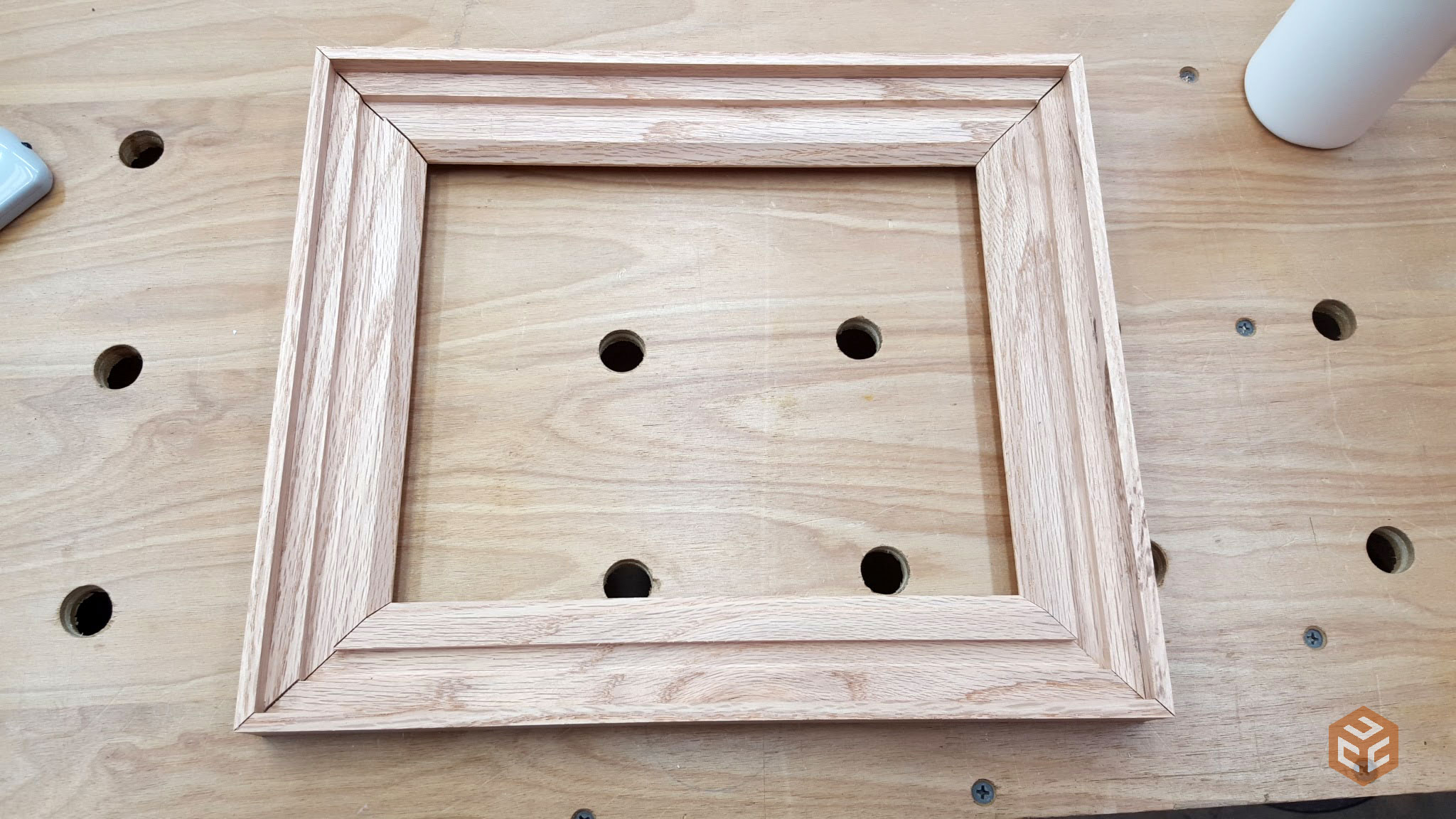 oak and twine rustic picture frame 10