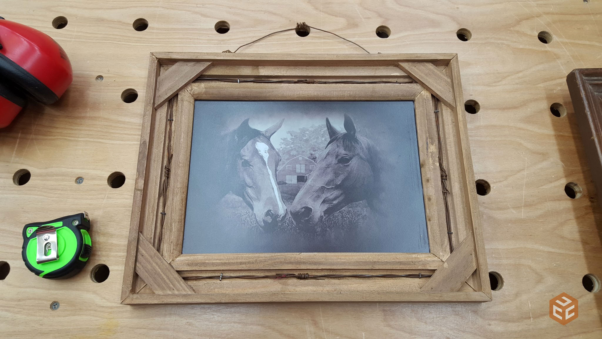 Round picture frames  Etsy