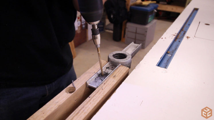 2x4 workbench leg vise (3)
