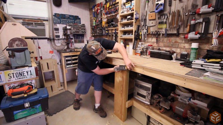 2x4 workbench leg vise (8)