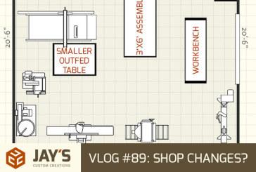 Vlog #89: Shop Changes?