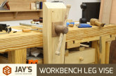 Workbench Leg Vise
