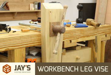 Workbench Leg Vise