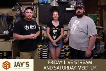 Friday Live Stream and Saturday Meet Up