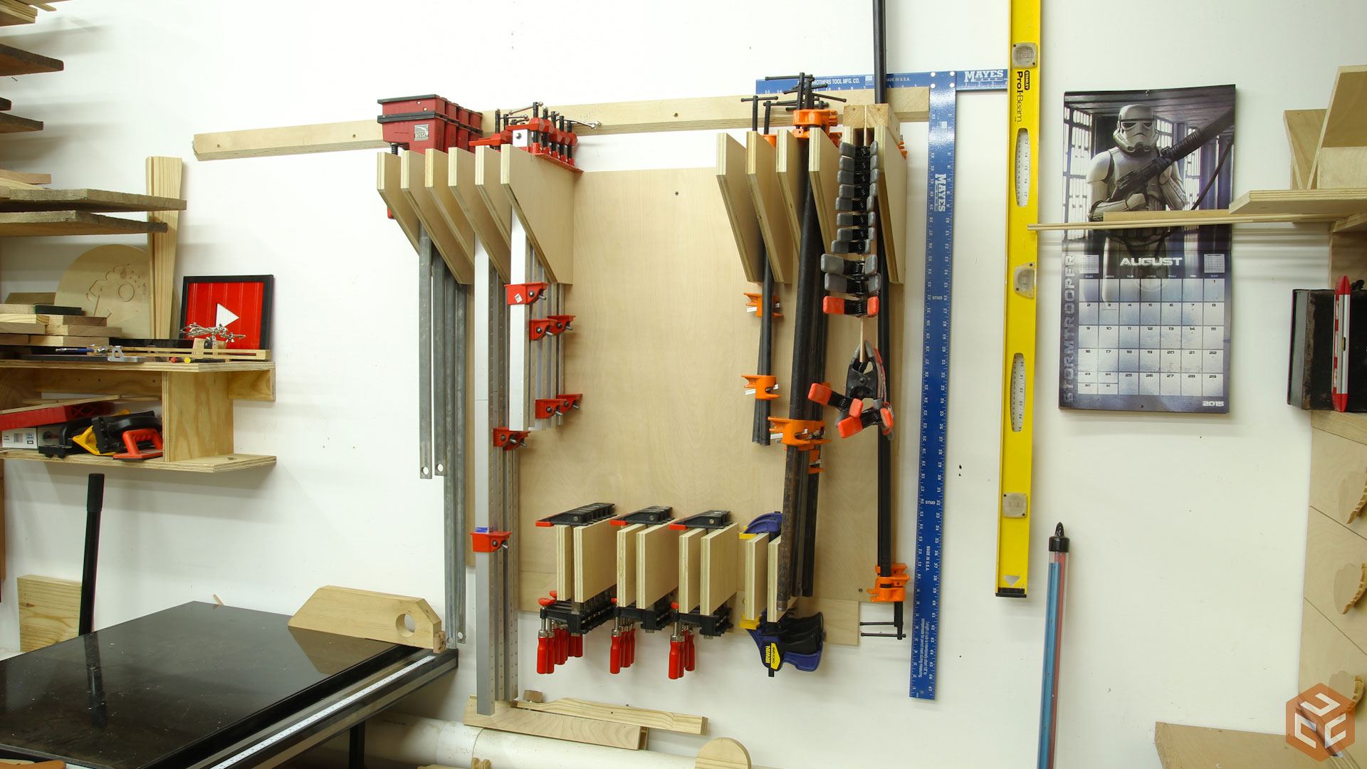 Clamp Rack – Version 2 | Jays Custom Creations