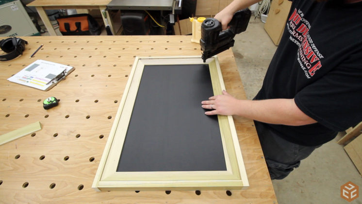 easel and chalkboard frame (21)