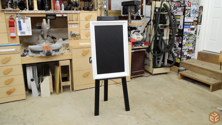 easel and chalkboard frame (26)